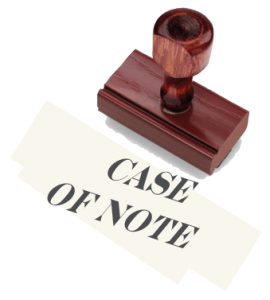 Case of Note
