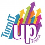 Turn it up Flyer Logo